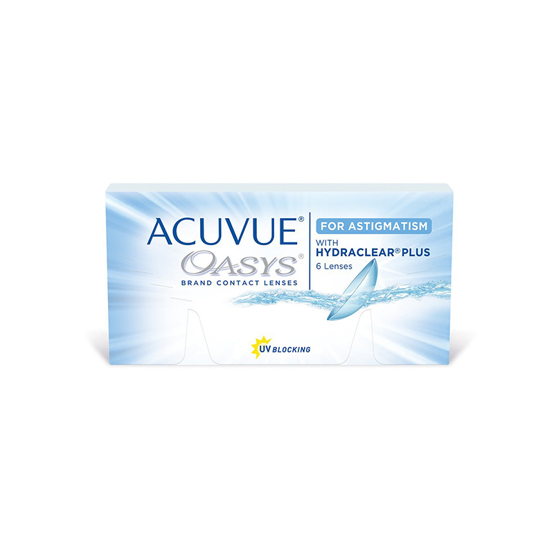 """Pakuotė astigmatinių kontaktinių lęšių """"Acuvue Oasys"""""""
