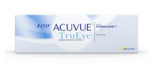 1-Day Acyvue TruEye kontaktinių lęšių dėžutė