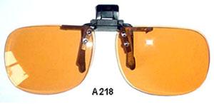 akiniai klipsai
